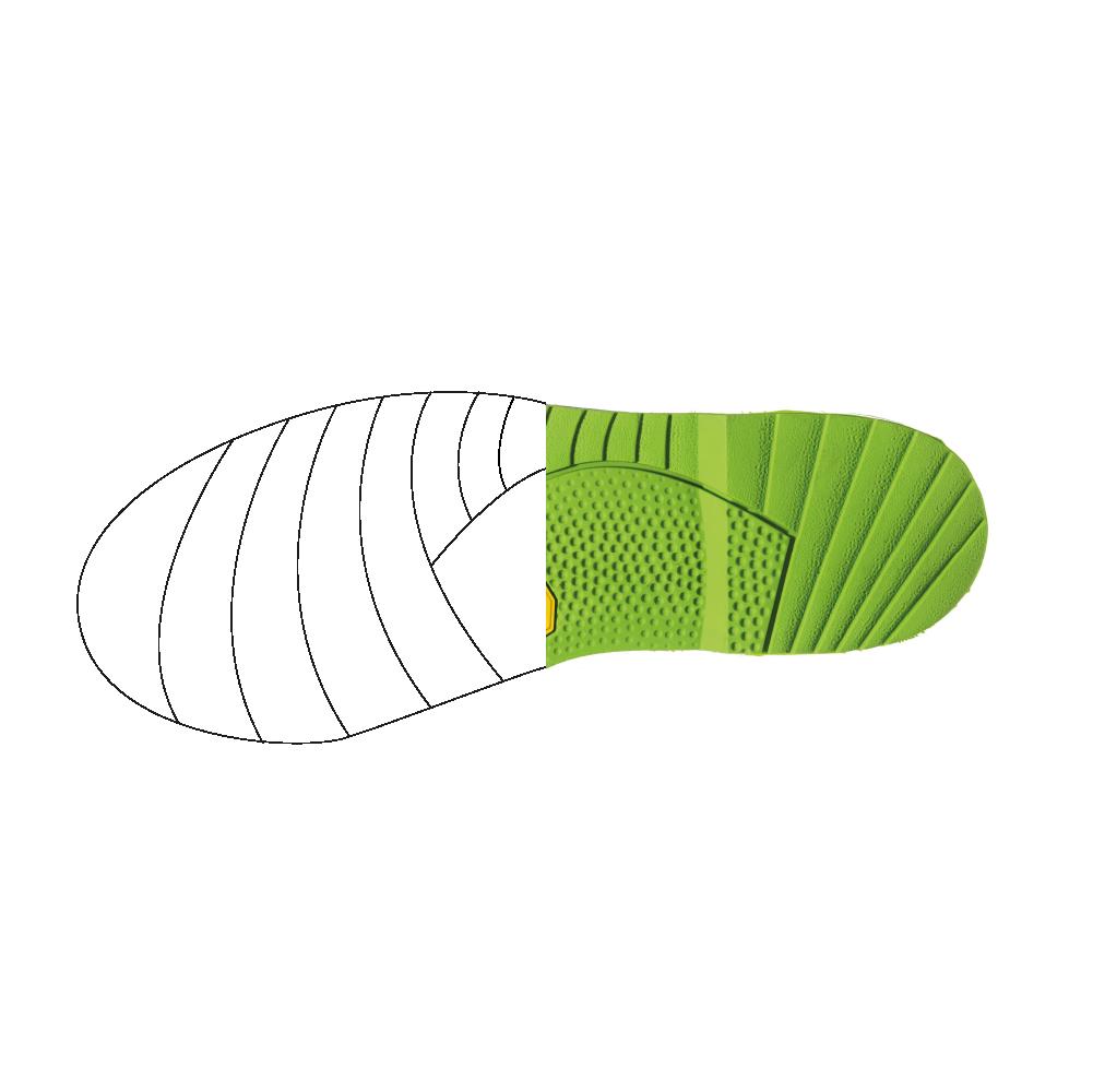 prototipi 3D calzature - prototipazione 3D dettaglio suola