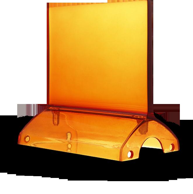 Resine acriliche plastiche trasparenti - Prototipo 3D resine